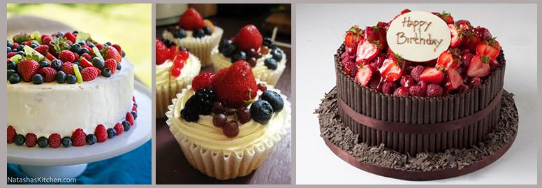 Торт из ягод и фруктов своими руками 132