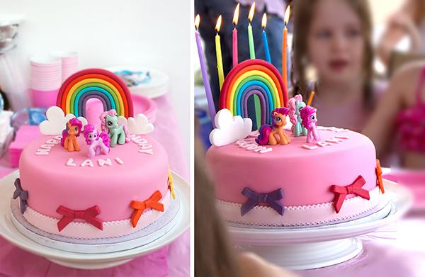 рецепт торт на день рождения девочке